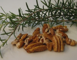 pecans...but no rosemary